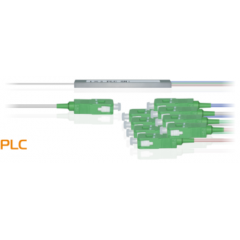 Делитель оптический планарный бескорпусный SNR-PLC-M-1x8-SC/APC