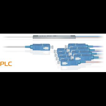 Делитель оптический планарный бескорпусный SNR-PLC-M-1x8-SC/UPC