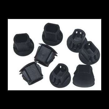 Пластиковые заглушки для круглых отверстий в оптических кроссах SNR-PLUG-FC (100шт)
