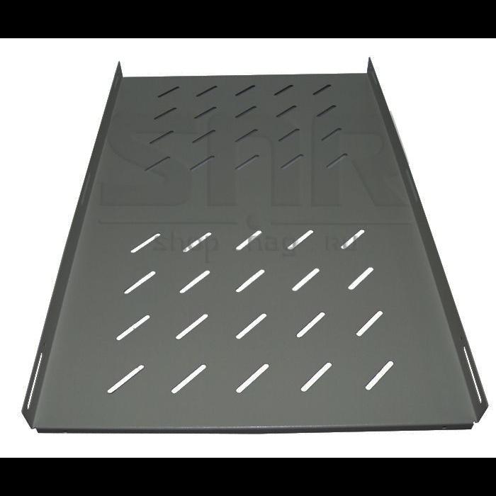 """Полка стационарная усиленная для шкафов 19"""" глубиной 1000мм, черная (распределенная нагрузка 200кг)"""
