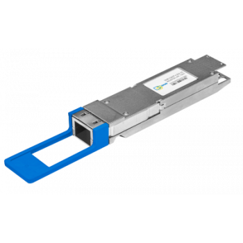 Двухволоконный модуль, QSFP+ 40GBASE-LR4, разъем LC, дальность до 10км (7dB)