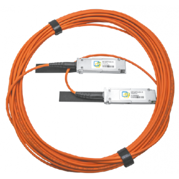 Модуль 100G QSFP28 AOC, дальность до 1м