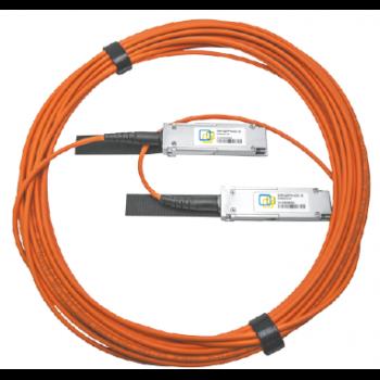 Модуль 100G QSFP28 AOC, дальность до 10м