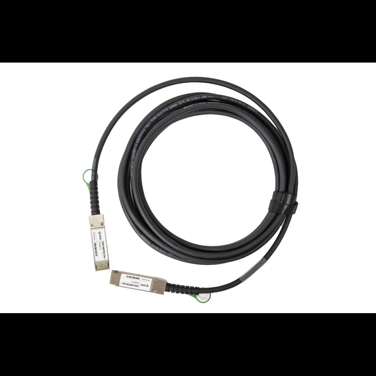Модуль 100G QSFP28 Direct Attach, дальность до 1м