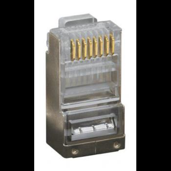 Коннектор RJ-45s  8P8C  cat.5e экранированный (100 шт)