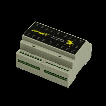 Универсальный расширитель портов ввода с функцией подсчёта импульсов, RS485 (ModBus и CPD)