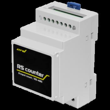 Счётчик импульсов с цифровым интерфейсом RS485, 8 импульсных входов (Modbus RTU)