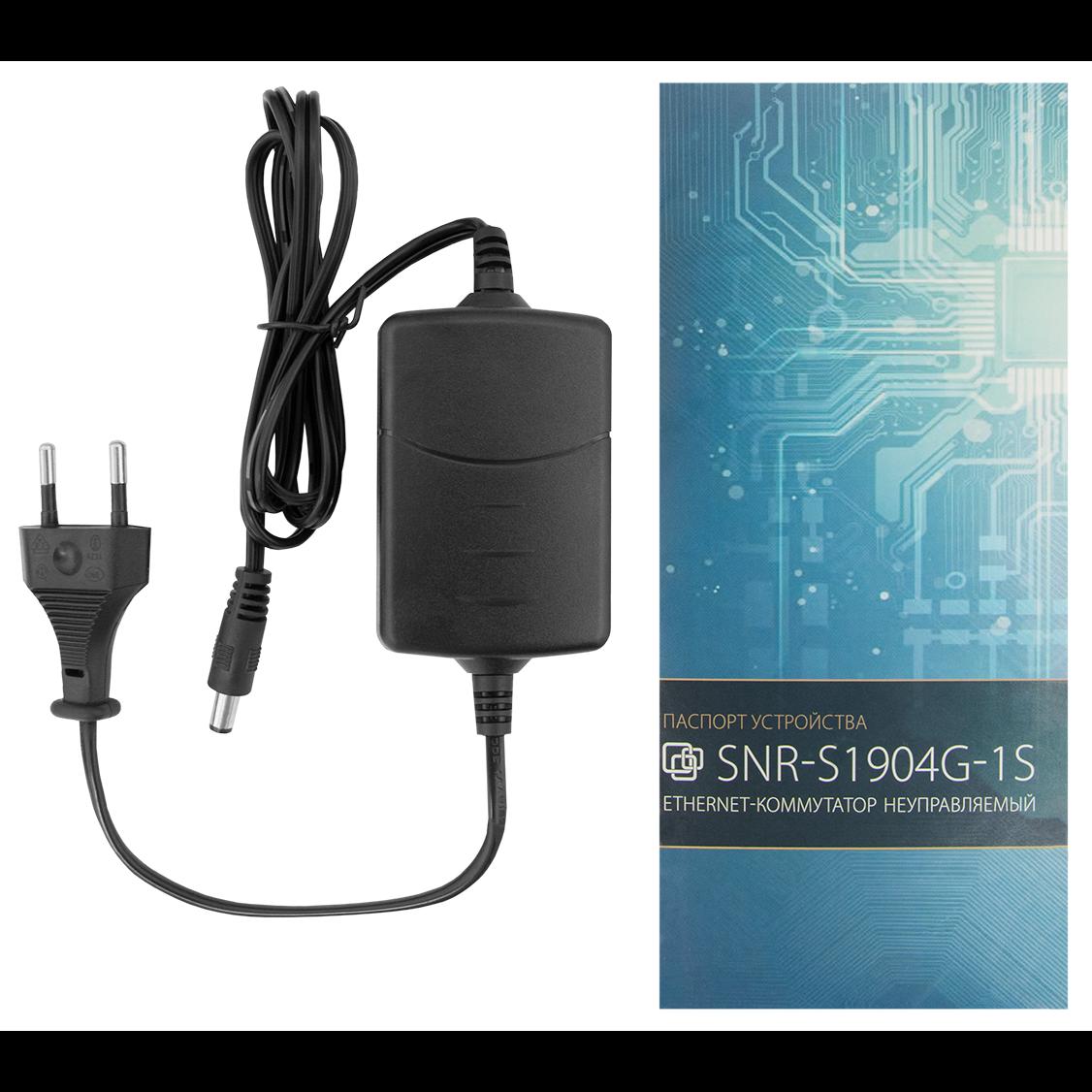 Неуправляемый коммутатор SNR-S1904G-1S