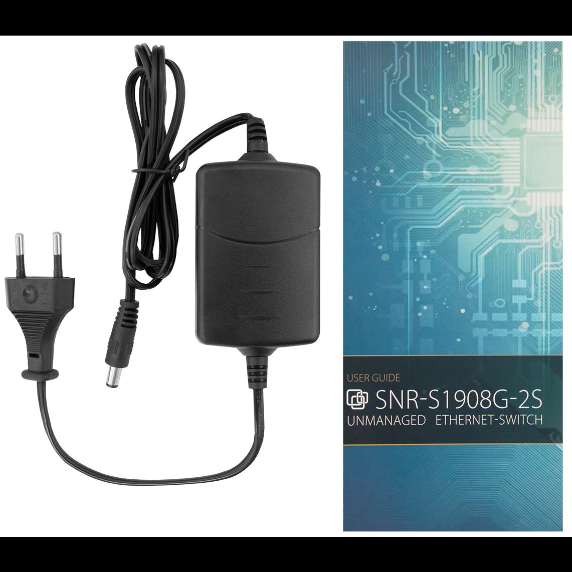 Неуправляемый коммутатор SNR-S1908G-2S