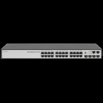 Управляемый POE коммутатор уровня 2+ SNR-S2990G-24TX-POE