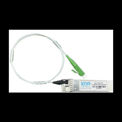 Модуль SFP+ CWDM оптический двунаправленный (BIDI), дальность до 10км (9dB), 1270нм