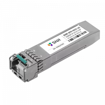 Модуль SFP+ WDM, дальность до 60км (21dB), 1330нм
