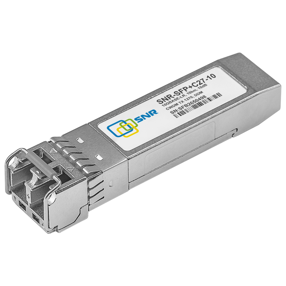 Модуль SFP+ CWDM оптический, дальность до 10км (10dB), 1270нм