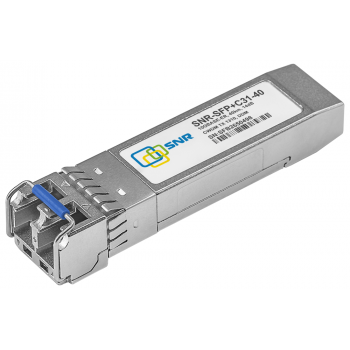 Модуль SFP+ CWDM оптический, дальность до 40км (14dB), 1310нм