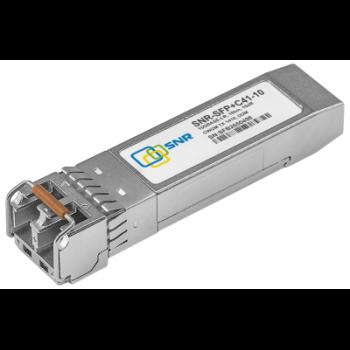 Модуль SFP+ CWDM оптический, дальность до 10км (10dB), 1410нм