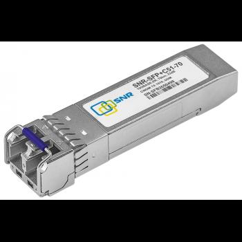 Модуль SFP+ CWDM оптический, дальность до 70км (23dB), 1510нм