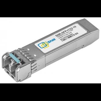 Модуль SFP+ CWDM оптический, дальность до 10км (10dB), 1530нм (com)