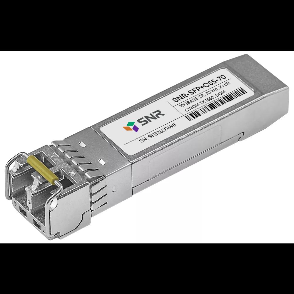 Модуль SFP+ CWDM оптический, дальность до 70км (23dB), 1550нм (com)