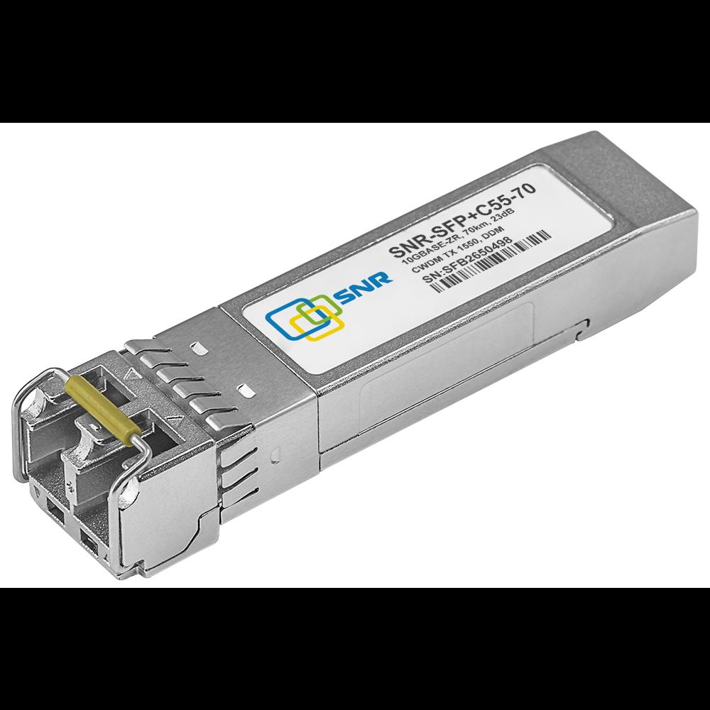 Модуль SFP+ CWDM оптический, дальность до 70км (23dB), 1550нм