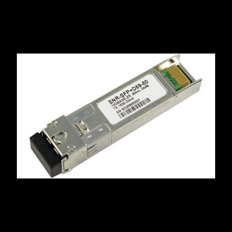 Модуль SFP+ DWDM оптический, дальность до 80км (24dB), 1552.52нм