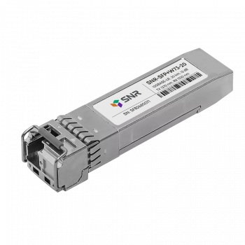 Модуль SFP+ WDM, дальность до 20км (12dB), 1270нм, прошиты под  HP