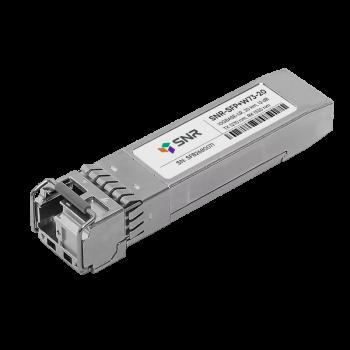 Модуль SFP+ WDM, дальность до 20км (12dB), 1270нм