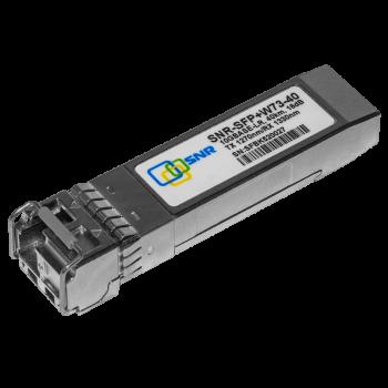 Модуль SFP+ WDM, дальность до 40км (16dB), 1270нм