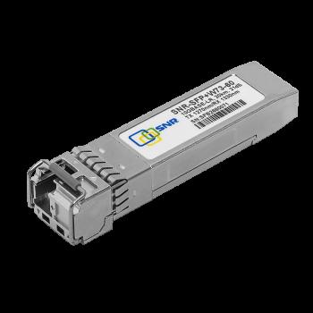 Модуль SFP+ WDM, дальность до 60км (21dB), 1270нм