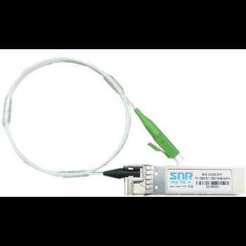 Модуль SFP CWDM оптический двунаправленный (BIDI), дальность до 40км (16dB), 1350нм