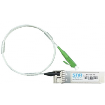 Модуль SFP CWDM оптический двунаправленный (BIDI), дальность до 40км (16dB), 1390нм