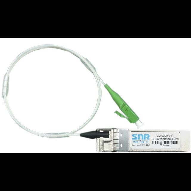 Модуль SFP CWDM оптический двунаправленный (BIDI), дальность до 40км (16dB), 1430нм