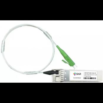 Модуль SFP CWDM оптический двунаправленный (BIDI), дальность до 40км (16dB), 1450нм
