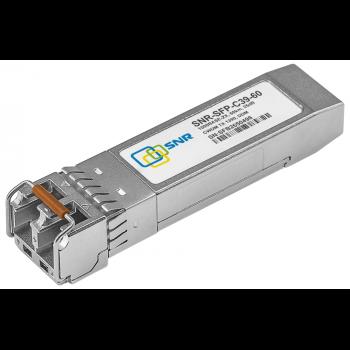 Модуль SFP CWDM оптический, дальность до 40км (19dB), 1390нм, DDM