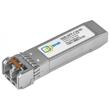 Модуль SFP CWDM оптический, дальность до 80км (32dB), 1390нм