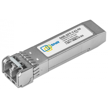 Модуль SFP CWDM оптический, дальность до 60км (25dB), 1430нм