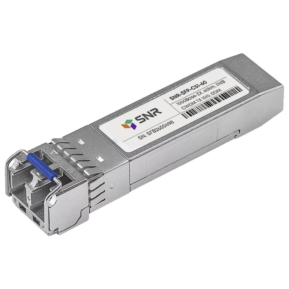 Модуль SFP CWDM оптический, дальность до 60км (17dB), 1510нм