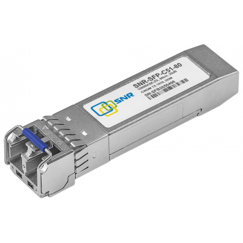 Модуль SFP CWDM оптический, дальность до 80км (25dB), 1510нм (com)