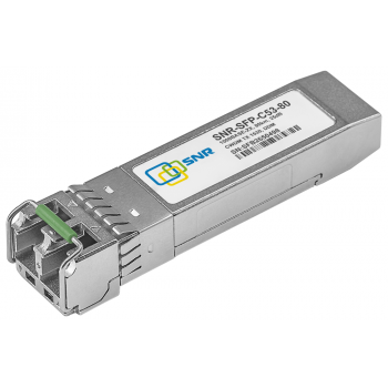 Модуль SFP CWDM оптический, дальность до 80км (25dB), 1530нм