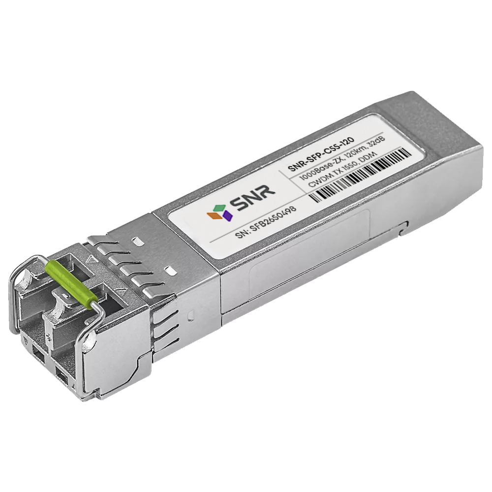 Модуль SFP CWDM оптический, дальность до 120км (32dB), 1550нм