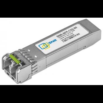 Модуль SFP CWDM оптический, дальность до 80км (25dB), 1550нм (com)