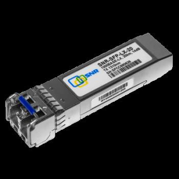 Модуль SFP оптический, дальность до  20км (14dB), 1310нм, индустриальный