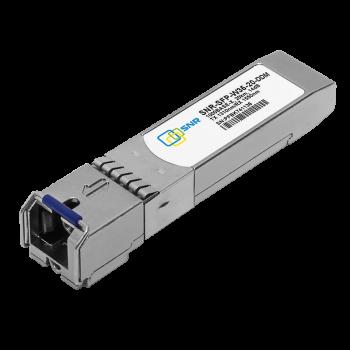 Модуль SFP 1.25G WDM, дальность до 20км (14dB), 1310нм, с функцией DDM