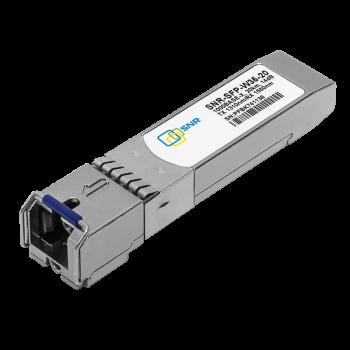 Модуль SFP WDM, дальность до 20км LC (14dB), 1310нм