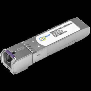 Модуль SFP WDM GEPON, дальность до 20км (32dB), Tx/Rx: 1490/1310нм