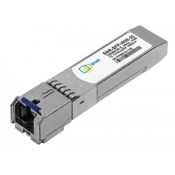 Модуль SFP WDM, дальность до 20км LC (14dB), 1550нм