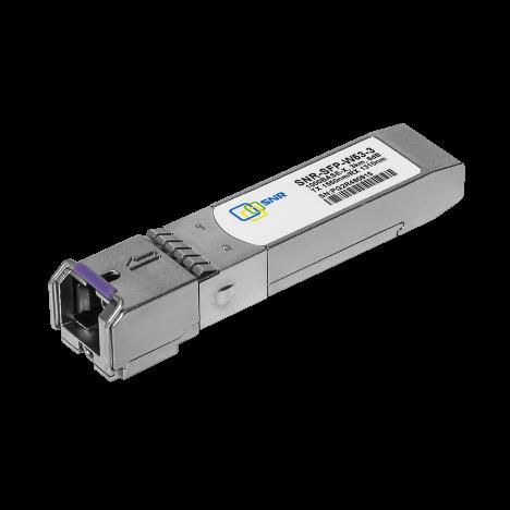 Модуль SFP WDM, дальность до   3км (6dB), 1550нм, комплект 100 шт.