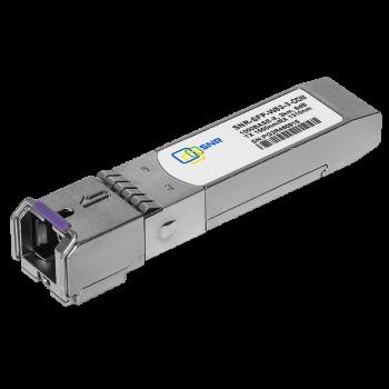 Модуль SFP 1.25G WDM, дальность до 3км (6dB), 1550нм, с функцией DDM