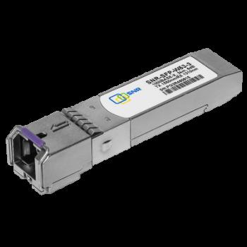 Модуль SFP WDM, дальность до   3км (6dB), 1550нм, индустриальный