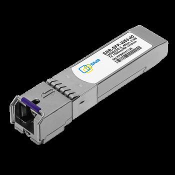 Модуль SFP WDM, дальность до  40км (21dB), 1550нм