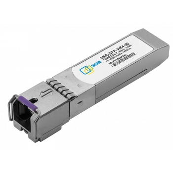 Модуль SFP WDM, дальность до  80км (24dB), 1550/1490нм